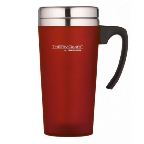 Thermos Thermocafe Zest Red Travel Mug Cup 420ml